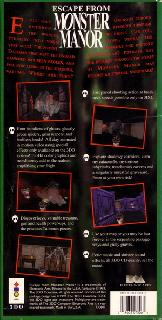 Screenshot Thumbnail / Media File 1 for Escape from Monster Manor - A Terrifying Hunt for the Undead (1993)(Electronic Arts)(US)[!][B349
